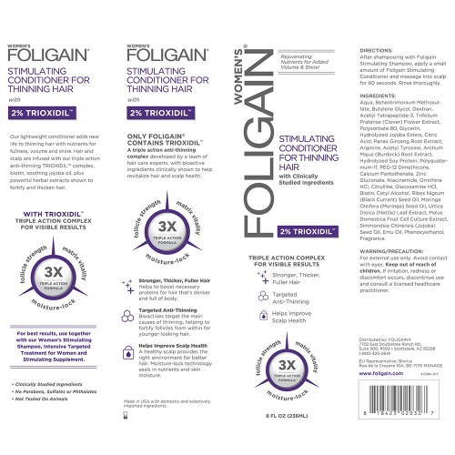 Foligain™ Frauen Conditioner 2% Trioxidil
